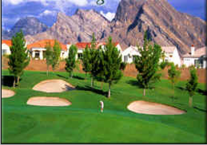 summerlin golf course with valley