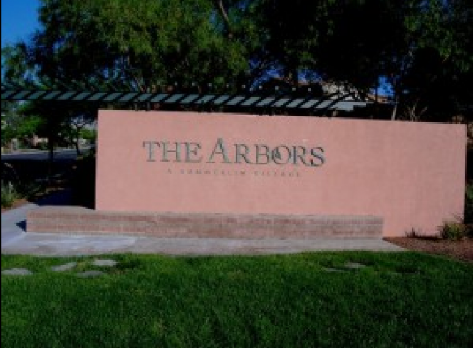 the arbors summerlin entrance