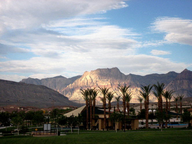 beautiful summerlin valleys
